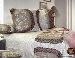 satin bed set Eney C0095