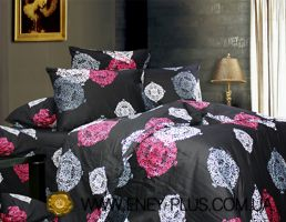 satin bed set Eney C0164