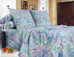 sky blue bedding sets Eney T0649